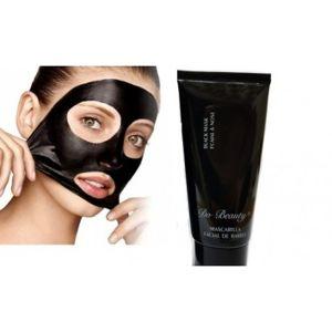 DR Černá slupovací maska na obličej