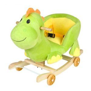 DR Dětská houpačka s kolečky - dinosaurus