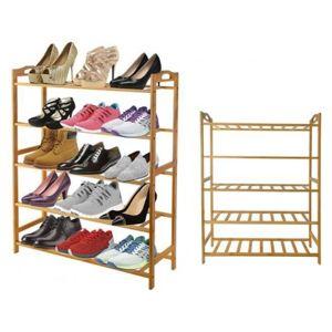 DR Dřevěný botník pro 15 párů bot
