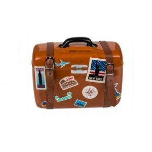 5905 DR Kasička cestovní kufr s přezkami