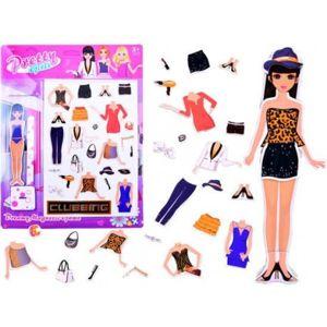 ZA3515 DR Magnetická panenka s oblečením