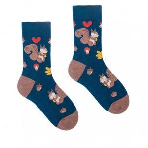 HESTY Veselé ponožky HESTY - Veveřák - Dětské 25-29